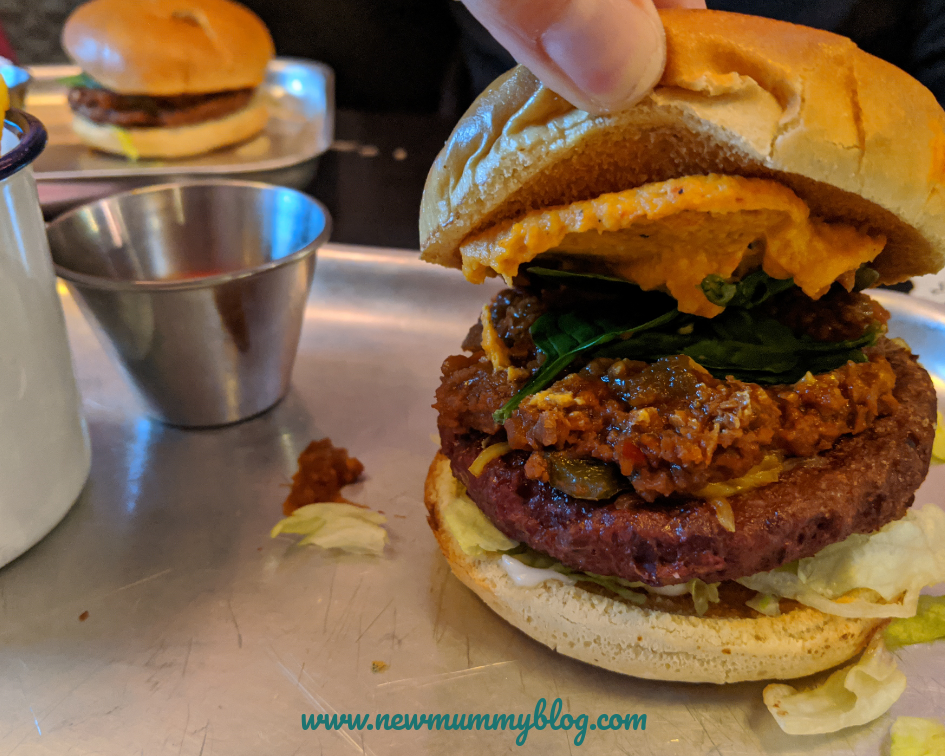 The Miller Cheltenham vegan food review - family lunch with games
