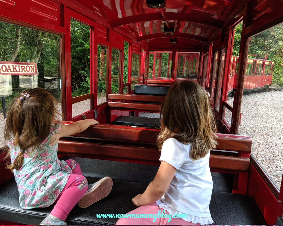 Visiting Perrygrove railway - review family day out Gloucestershire Forest of Dean
