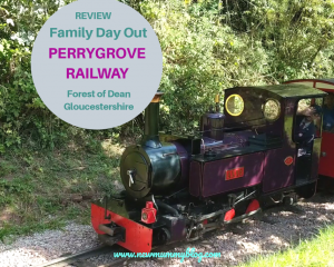 Perrygrove Railway review Forest of Dean family day out near Cheltenham
