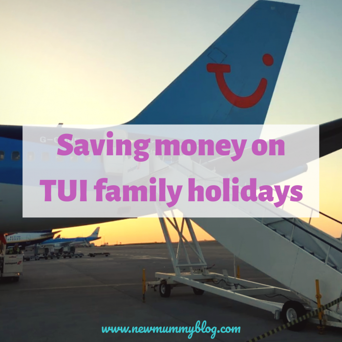Saving money TUI family holidays discount voucher code