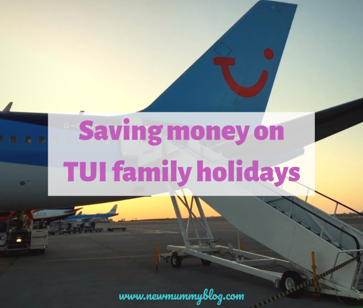Saving money TUI family holidays discount voucher code
