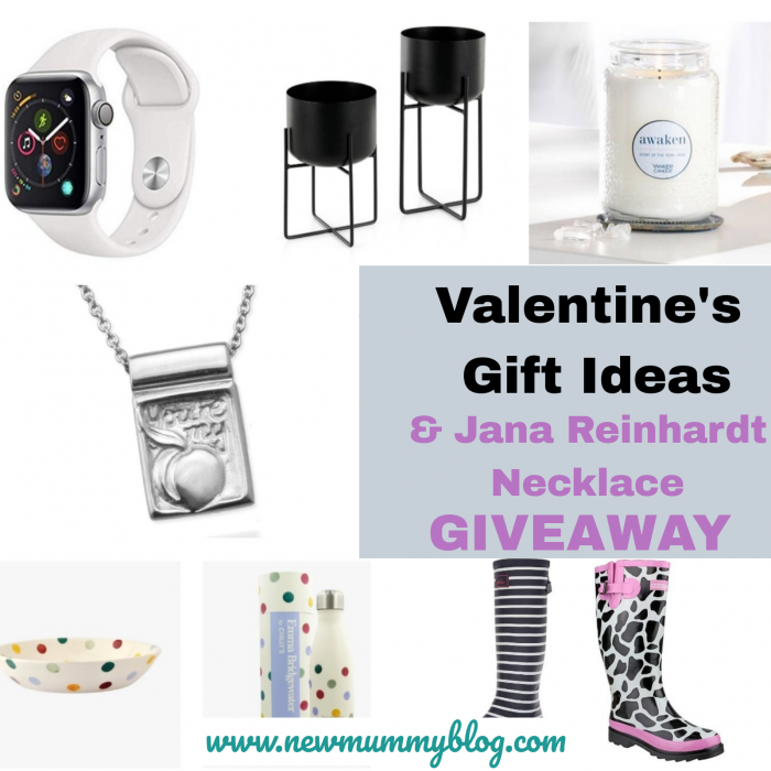 Valentines gift ideas and Jana Reinhardt necklace giveaway