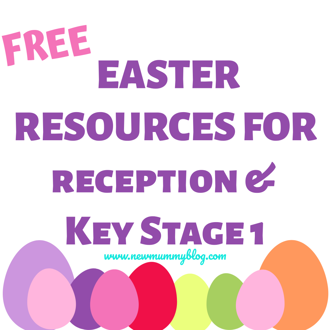 Easter activities for kids - EYFS, reception/KS1 age 3-7