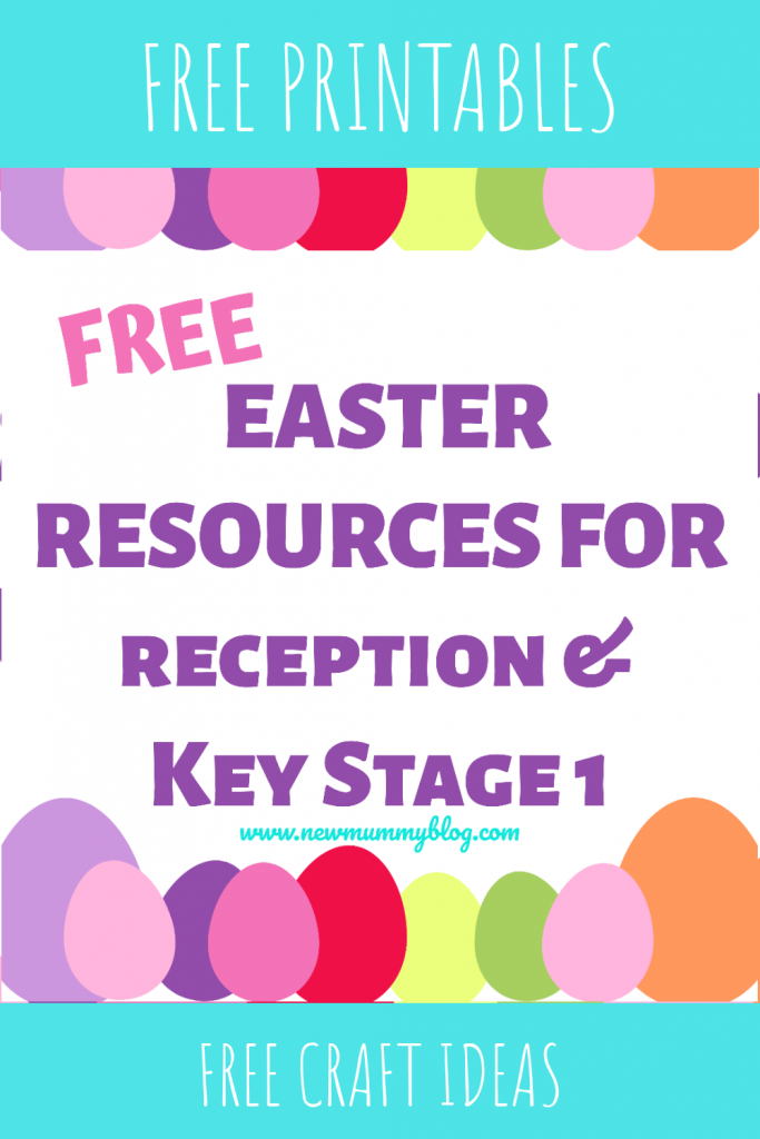 Easter activities for kids age 4-7 EYFS, Reception and Key Stage 1. Printables, colouring, Easter craft ideas, cards...