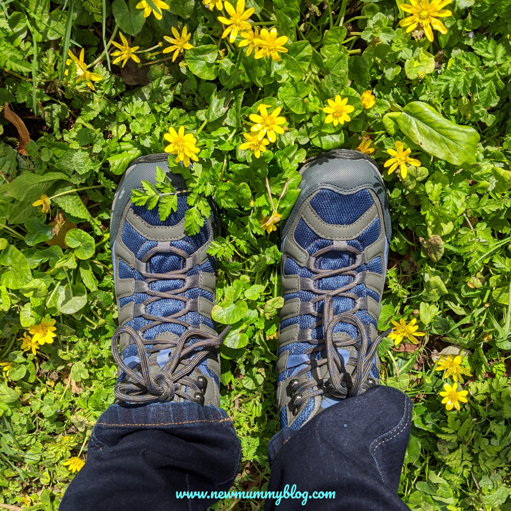 Trespass walking boots review family walks waterproof breathable boots