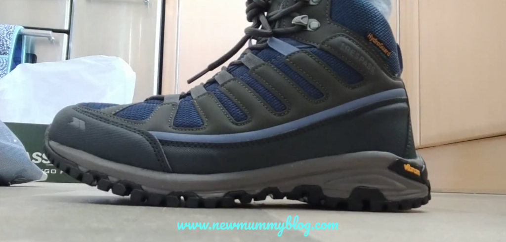 Trespass Tensing walking boots review