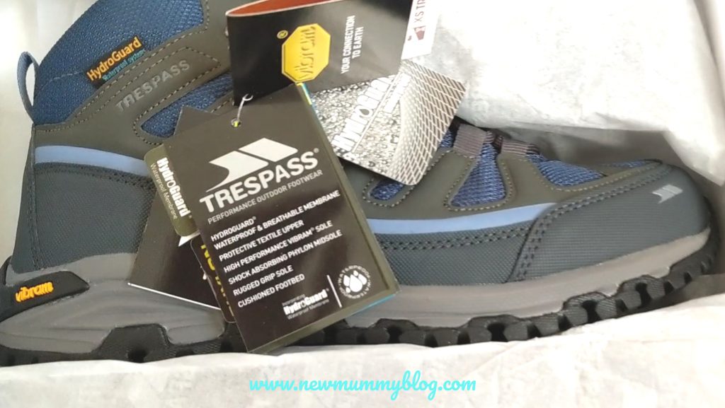 Walking boots review Trespass Tensing ladies boots