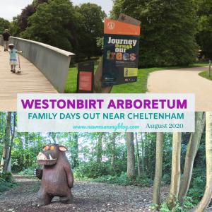 Westonbirt review family days out near Cheltenham, Gruffalo trail