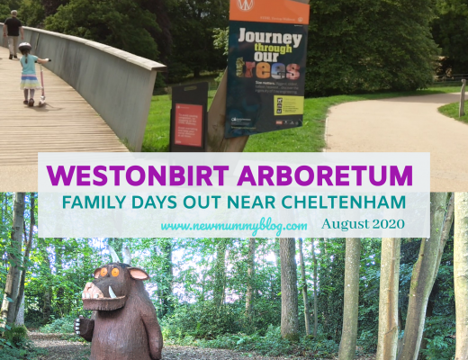 Westonbirt review family days out near Cheltenham, Gruffalo trail