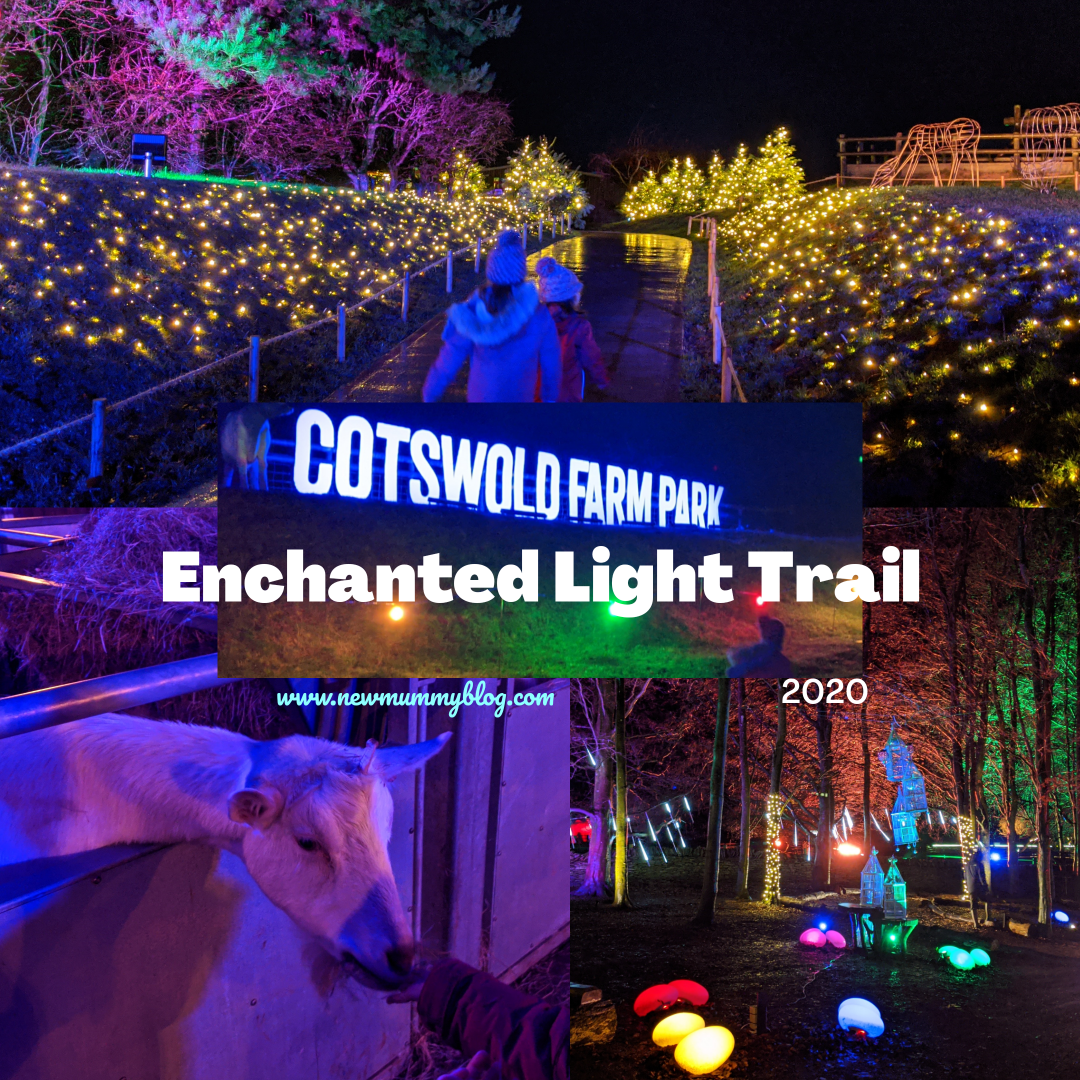 Cotswold Farm Park Enchanted Light Trail Review and video 2020 - Christmas Events near Cheltenham