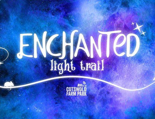 Cotswold Farm Park Enchanted Light Trail 2020 christmas event cheltenham 2020